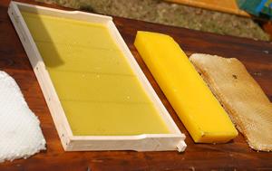 Bienenwachs, Produkte der Biene